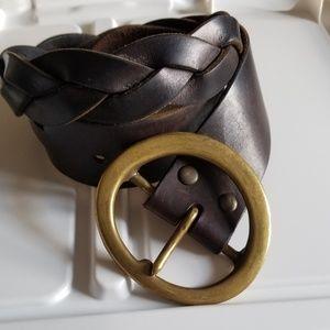 XS genuine leather Gap belt